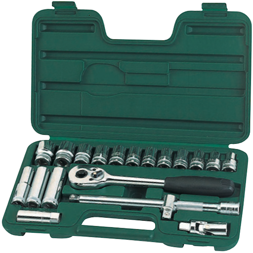 SATA Socket Set 20pc, 1/2