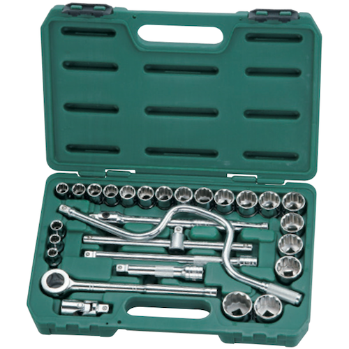 SATA Socket Set 28pc, 1/2