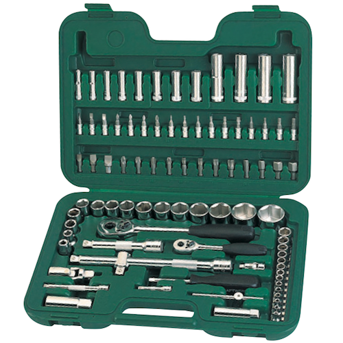 SATA Dr. Socket Set 86pc, 1/4