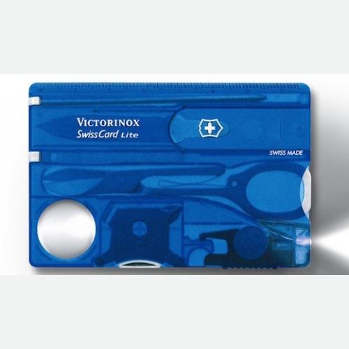 Victorinox Swiss Army Swiss Card Lite Sapphire 0.7322.T2B1