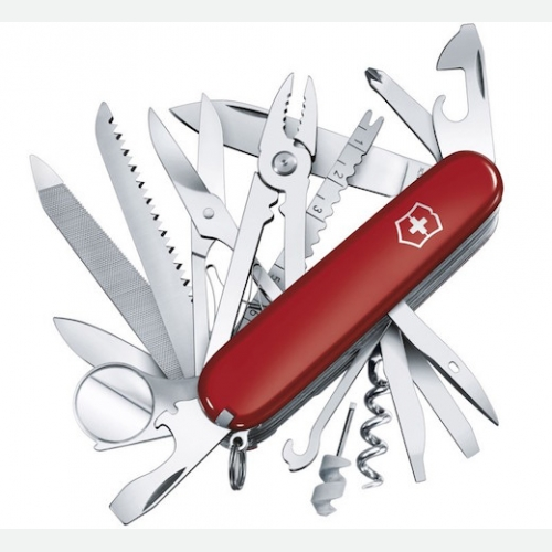 Victorinox Swiss Army Swiss Champ Red Blistered 1.6795.LB1