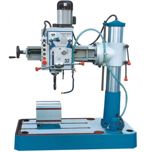 Xest Ling Radial Arm Drill 32mm, 750W, 1600rpm, 580kg Z3032X7P