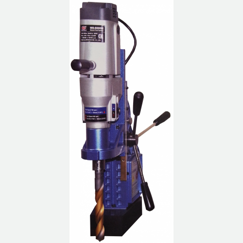 Wind Speed Magnetic Drill 1850W 750rpm 18-60mm 23kg WS-6025MT