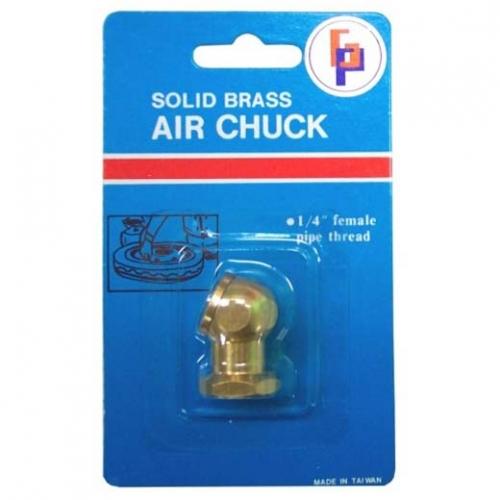 Gison Solid Brass Air Tire Chuck, GAS-12