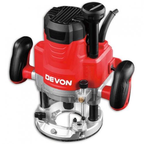 Devon Plunge Router 12mm, 22000rpm, 1750W, 5.7kg 1324