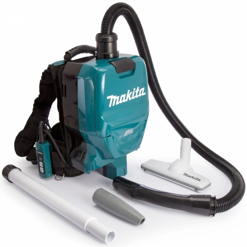 Makita Cordless Backpack Vacuum Cleaner 18Vx2, 4.3kg DVC260Z