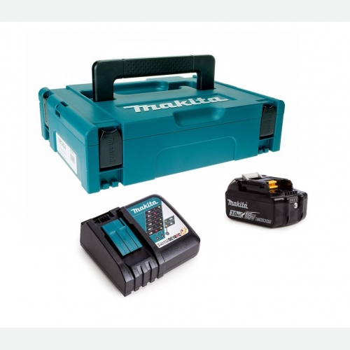 Makita Battery Kit18V3.0Ah x 1pc, Fast Charger x 1pc MKP1RF181
