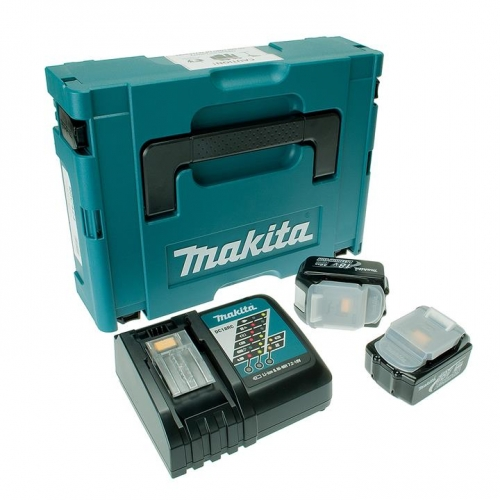 Makita Battery Kit18V3.0Ah x 2pc, Fast Charger x 1pc MKP1RF182