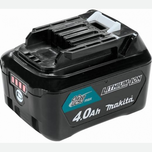 Makita Li-Ion Battery 12V 4.0Ah with Indicator BL1041B