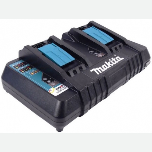 Makita Dual Port Fast Charger for 18V Li-Ion Battery DC18RD