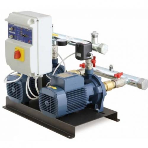 Pedrollo Pressure Boosting Sets, 0.75kW, 180L/min, CB2-4CPm100E