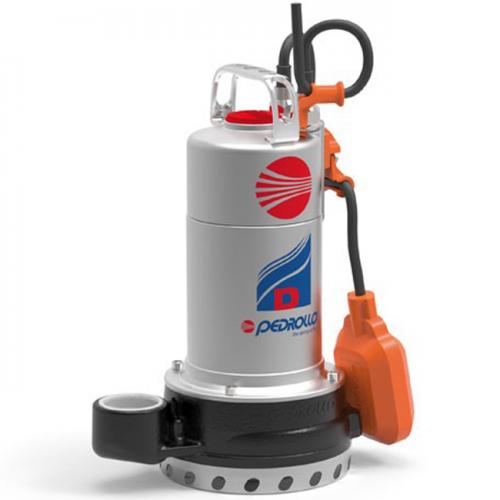 Pedrollo Drainage Pumps 0.75kW, 25~250L/min, 20~7m, Dm20-N