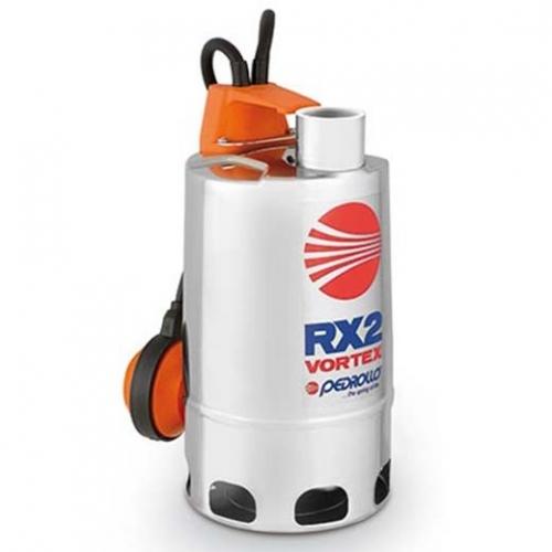 Pedrollo Vortex Submersible Pump, 0.55kW, 1-1/4