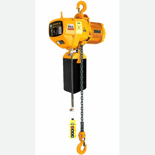 ShuangGe Electric ChainHoist 2tx5m 3.4m/min 1.5kW 73kgWHD5-0202S