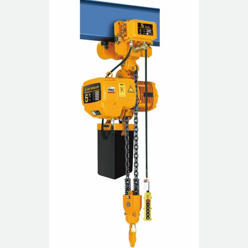 ShuangGe Electric ChainHoist 2tx5m 3m/min 1.5kW 73kg WHD5-0202SE