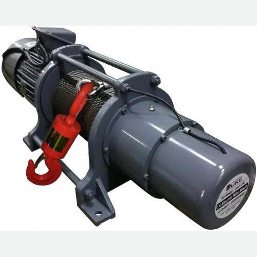 DUKE Winch 1ton, 10mmx200m, 12m/min, 3Ø, 2.2kW, 302kg DU-212XL