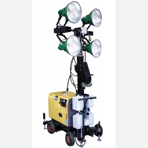 TOKU Light Tower Diesel Engine 4 Lights H:5300mm 280kg TKLT-4400 (VP)