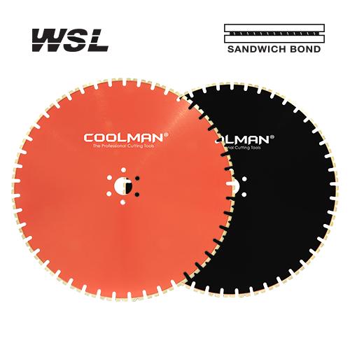 COOLMAN WALL SAW BLADE WSL SERIES 64