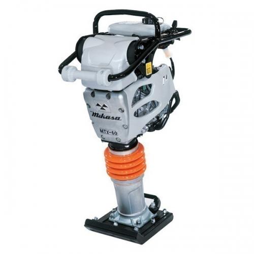MIKASA Tamping Rammer Gasoline Engine, 285x340mm, 75kg MTX-70ER