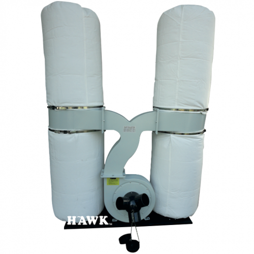 HAWK Dust Collector 2200W, 100mm, 65090L/min, 64kg FM300T