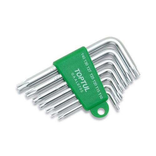 Toptul 7PCS Long Type Ball Point Hex Key Wrench Set