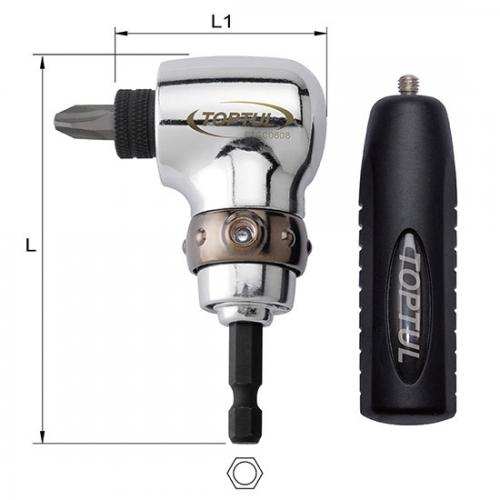 Toptul 90° Angled Driver Drill Tool