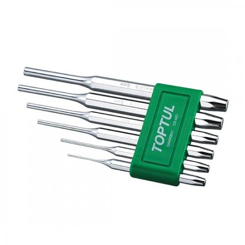 Toptul 6PCS Pin Punch Set