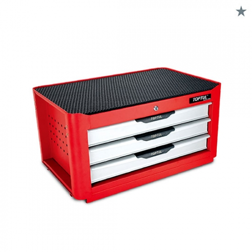 Toptul 3-Drawer Middle Tool Chest - NEW PRO-LINE SERIES - RED
