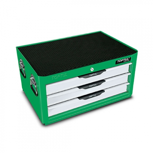 Toptul 3-Drawer Middle Tool Chest - PRO-LINE SERIES - GREEN