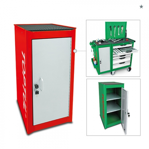 Toptul Side Cabinet - RED