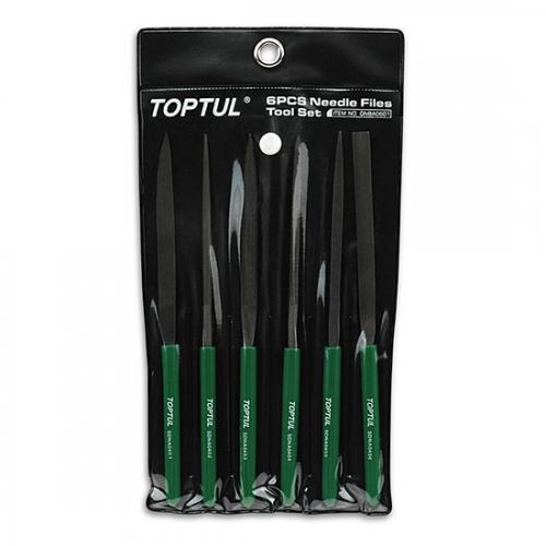 Toptul 6PCS Needle File Set