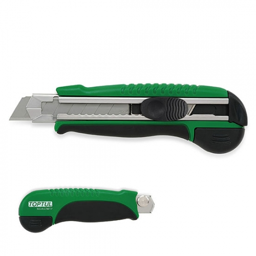 Toptul Auto Reload Utility Knife (W/Spare Blade)