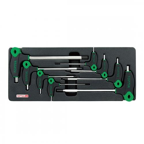 8PCS - L-Type Two Way Hex Key Wrench Set