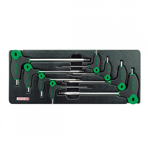 8PCS - L-Type Two Way Ball Point & Hex Key Wrench Set