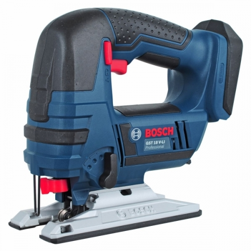 Bosch Cordless Jigsaw 80mm, 2700spm, 18V, 2.4kg GST18V-Li Solo