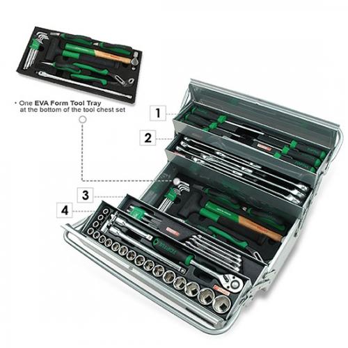 63PCS Tool Chest Set