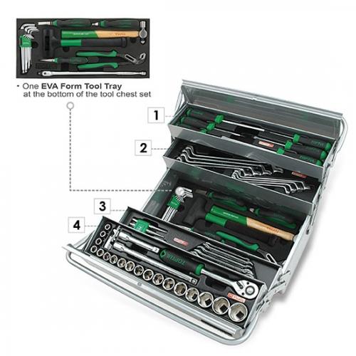 65PCS Tool Chest Set