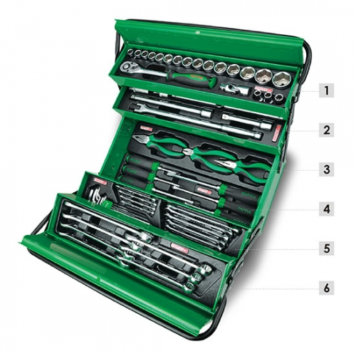 62PCS Tool Chest Set