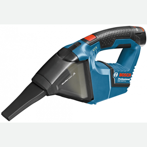 Bosch Cordless Vacuum Cleaner 12V, 0.35L, 45mBar GAS12V-Li Solo