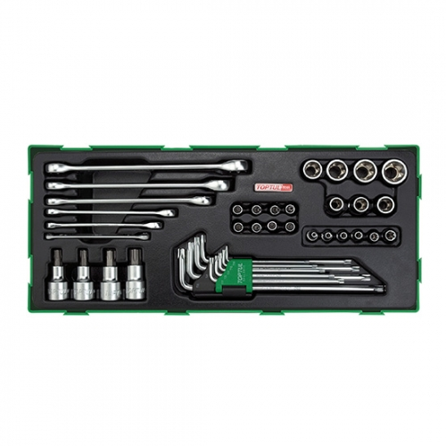 40PCS - Star & Tamperproof Socket Wrench Set