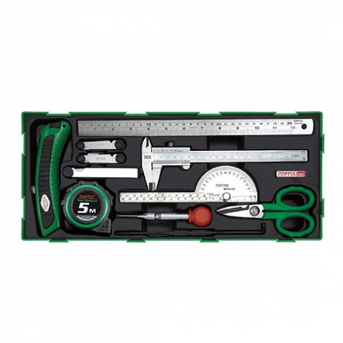11PCS - Measuring, Marking & Cutting Tool Set