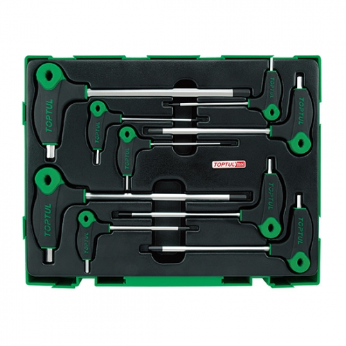 9PCS - L-Type Two Way Hex Key Wrench Set