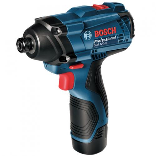 Bosch Cordless Impact Driver 12V, 100Nm, 3400bpm, 1kg GDR120-Li