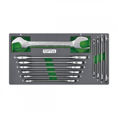 11PCS - Double Open Wrench Set