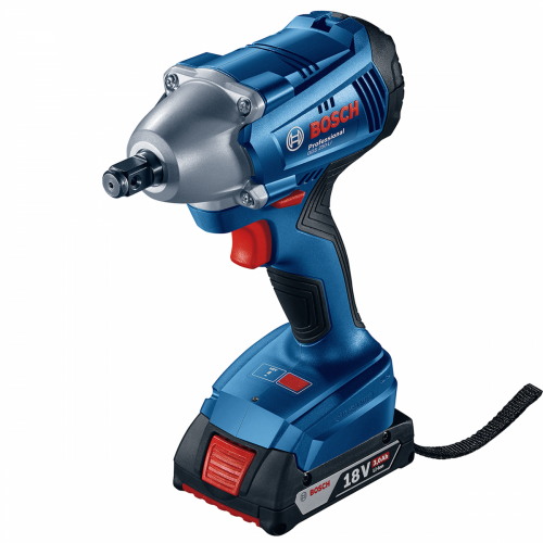Bosch Cordless Impact Wrench 18V, 250Nm, 2400rpm, 2kg GDS250-Li