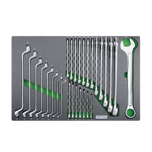 28PCS - Combination & Double Ring Wrench Set