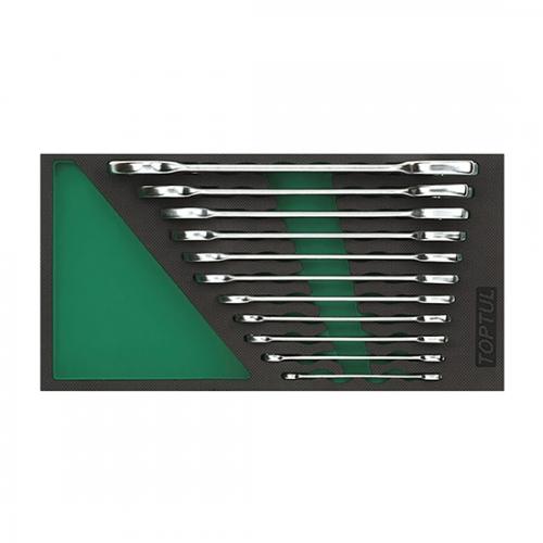 11PCS - Double Open Wrench Set