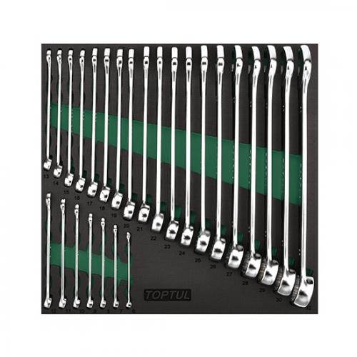 26PCS - 15° Offset Pro-Line Combination Wrench Set