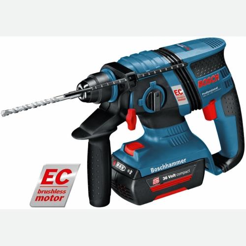Bosch Cordless Rotary Hammer 18mm 1500rpm 36V 3kg GBH36V-EC Com