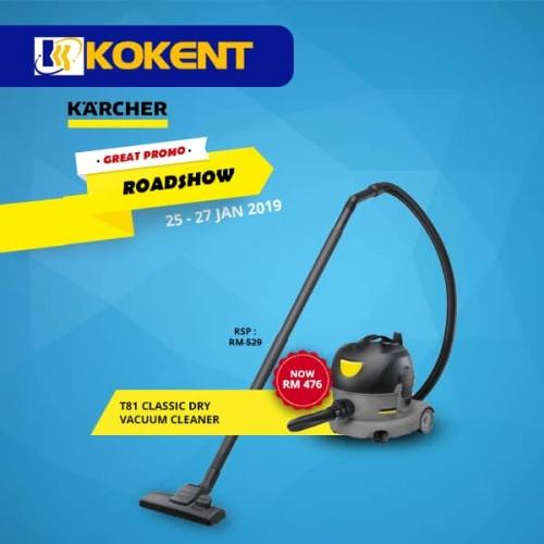 T81 classic dry vacuum cleaner